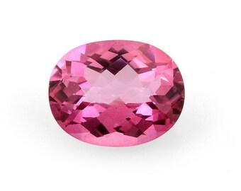 Mystic Pink Topaz Oval Cut Loose Gemstone 1A Quality 10x8mm TGW 2.60 cts.