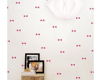SALE!!! Fuchsia triangle wall decals, triangles wall stickers, nursery wall decor