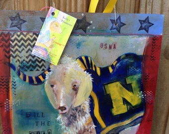 Bill the Goat Photo collage, USNA, 10 percent of all proceeds go back to Midshipmen.