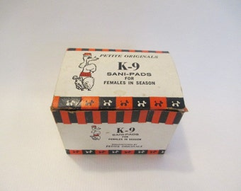 K-9 Sani-Pads for Females in Season Gag Gift
