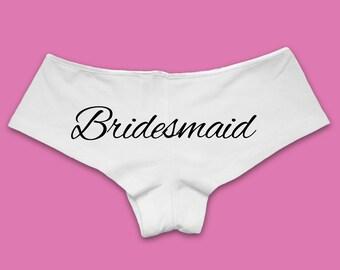 Bridesmaid Panties | Bridesmaid Underwear. Bridesmaid Panties. Bridesmaid Panty. Bridesmaid Lingerie. Bridesmaid Gift.