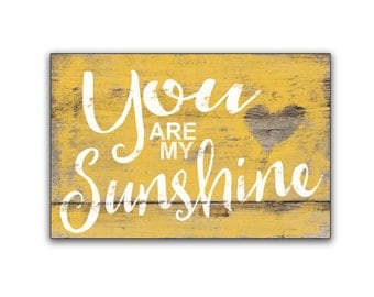 You are my sunshine wooden sign children's room decor nursery signs nursery decor children's room decor baby shower gifts inspirational sign