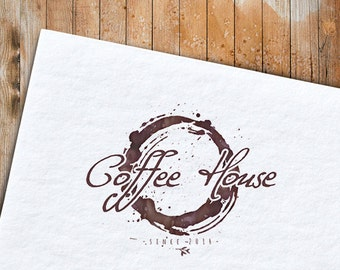 Business branding - Logo template for coffee businesses