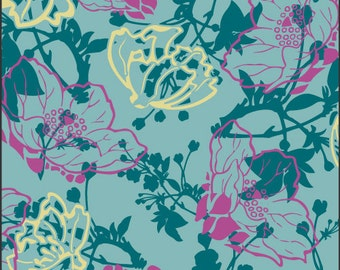 Paradise Collection Evening Showers by Pat Bravo for Art Gallery Fabrics