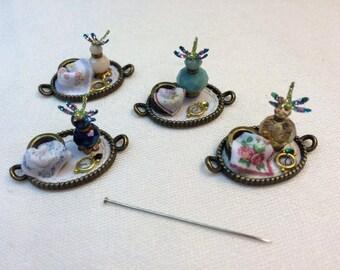 Miniature handmade Dragonfly  Vanity tray