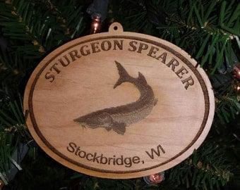 Stockbridge Sturgeon Ornament