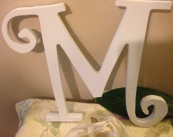 Shabby Chic Wall Decor, Shabby Chic Letter, Monogrammed