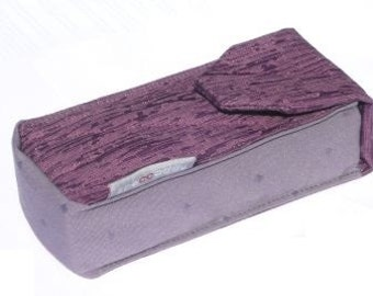 Large Double Eyeglass Case - Amethyst (discontinued)