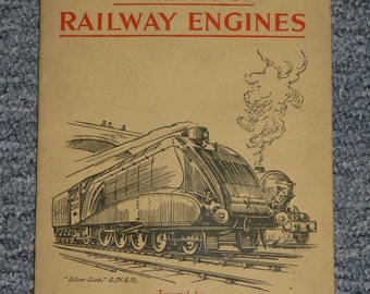 British Cigarette Card Set ( Set of 44 of 50 Cards) - Railway Engines. Issued by W D & H O Wills Cigarettes.