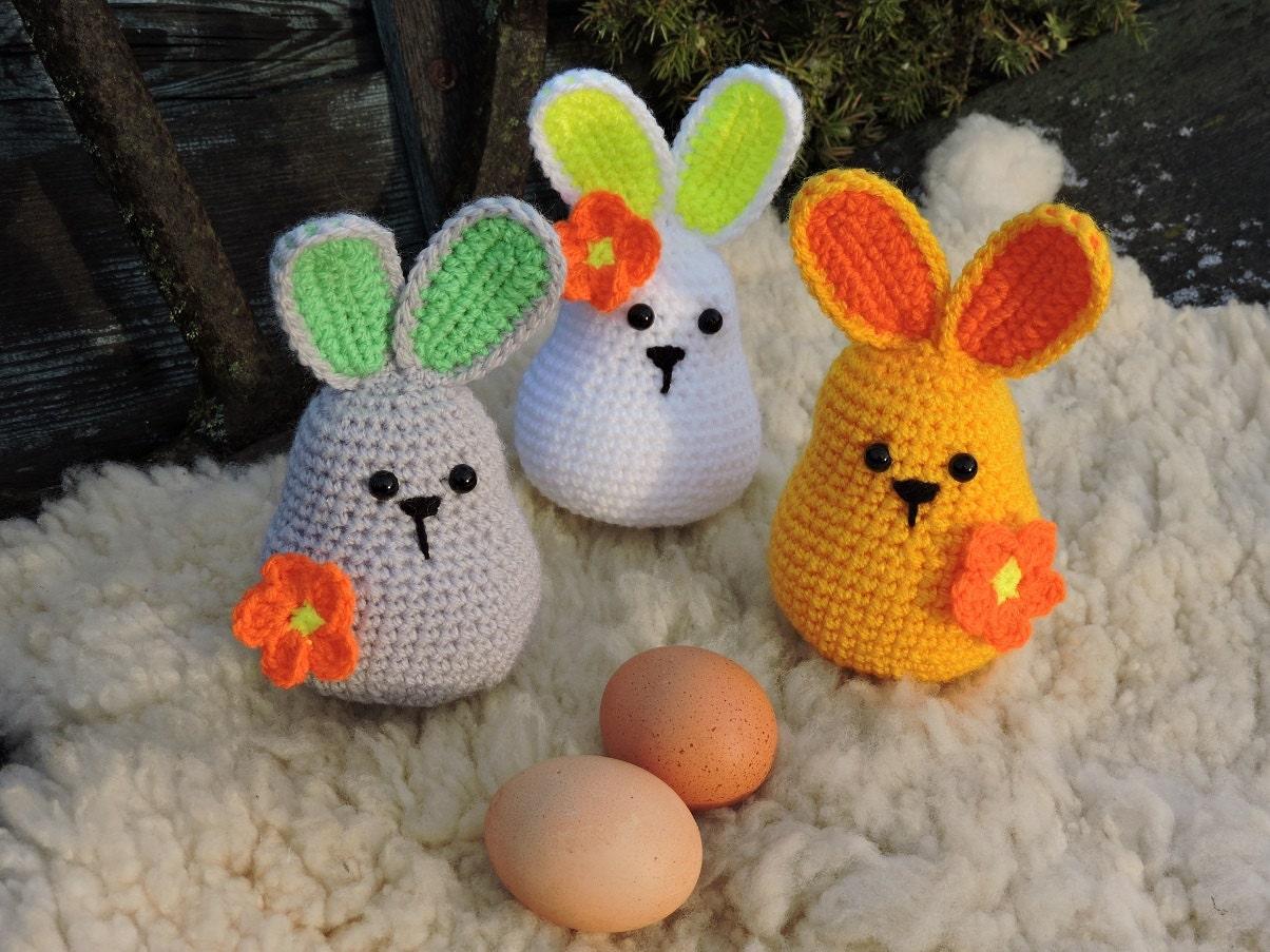 Amigurumi Easter Bunny Pattern : Amigurumi Crochet Pattern Easter Bunny Crochet Rabbit
