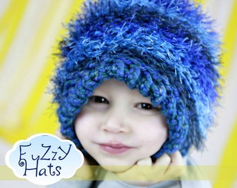 Custom Fuzzy/Hairy Hats! For ages 6 - 10 years old