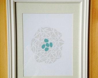 Robin's Egg Print (framed)