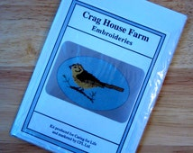 Crag House Farm Embroideries Counted Cross Stitch Card Kit (#62)