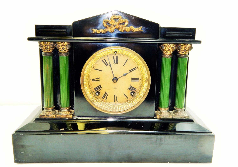 vintage ansonia mantel clock eBay