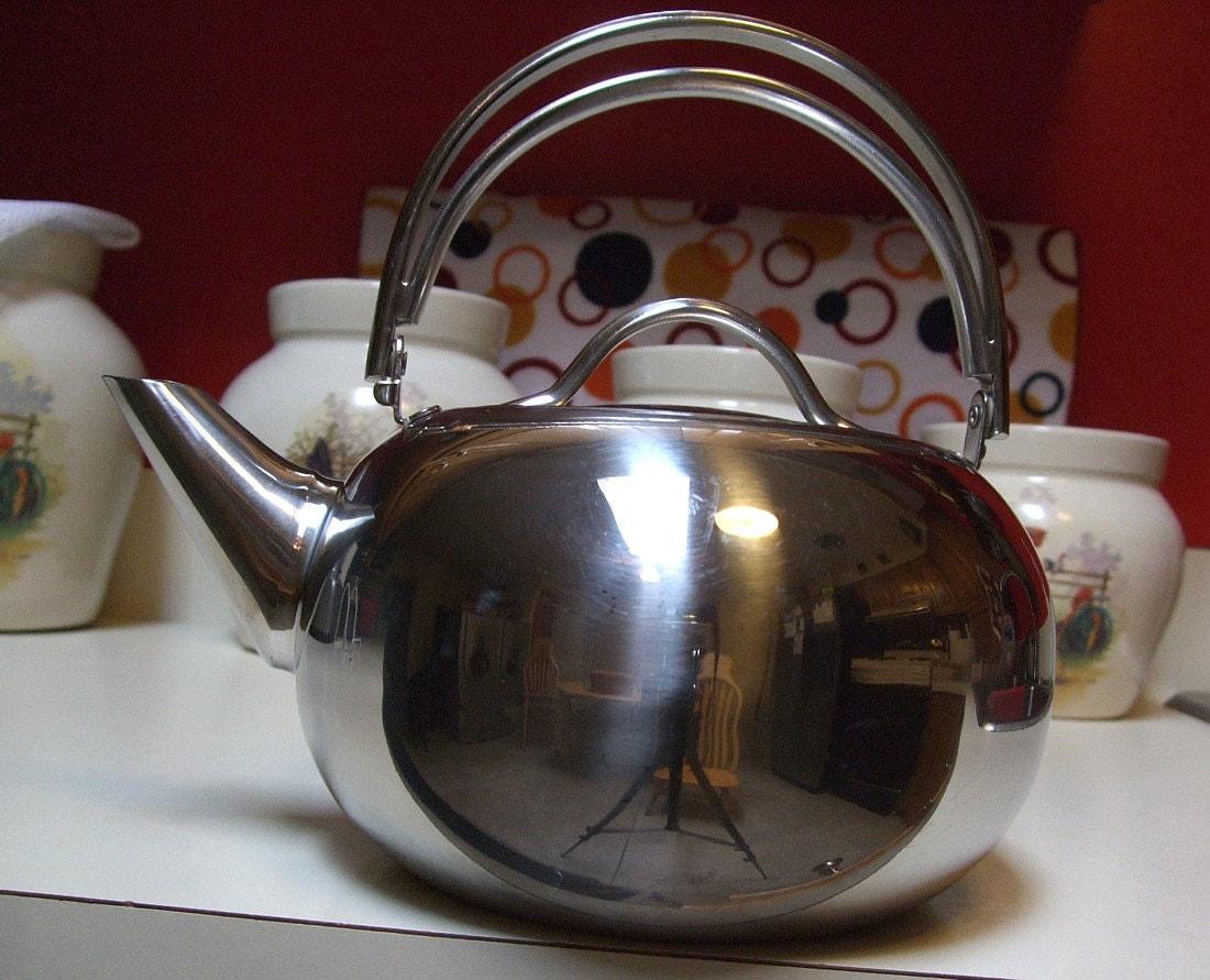 Vintage Revere Ware Revereware 6734 Proline Series Tea Pot