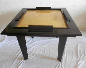 Solid Wood Domino table