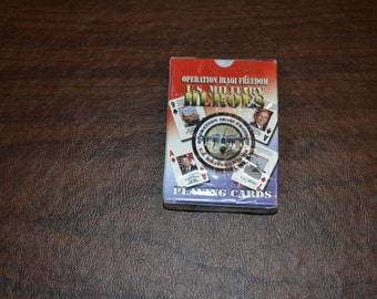 Operation Iraqi Freedom Playing Cards