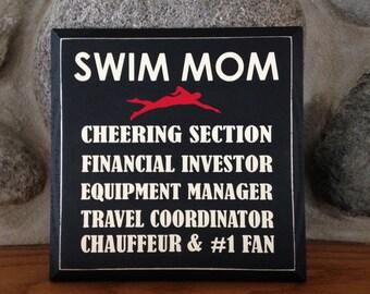 Swim Mom - Sport Mom