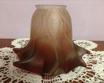 Lampholder, Vintage Blown Glass