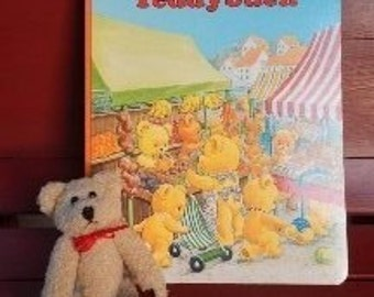 Cute German Children's Book with Matching Teddy Bear!