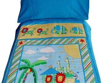 Toddler Bedding Set - Duvet and Pillow Case set for Toddler Bed or standard Cot