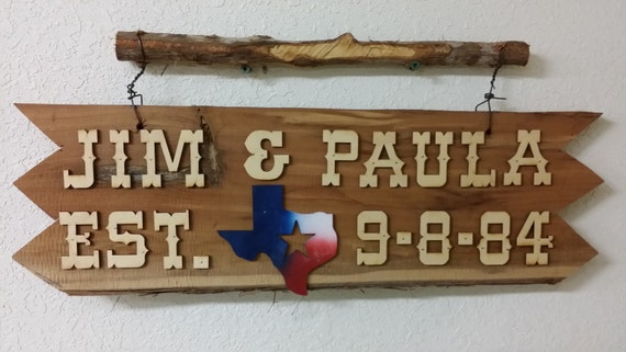 how to make cedar signs