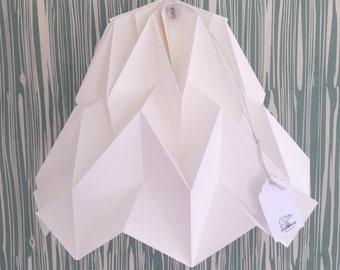Origami Lampshade Fuji Polar Bear