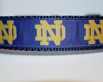 Notre Dame Dog Leash