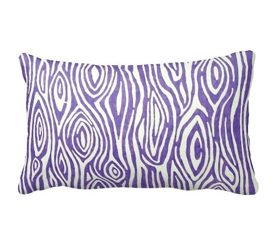 Throw Pillow Dimensions : 7 Sizes Available: Decorative Pillow Purple by ReedFeatherStraw