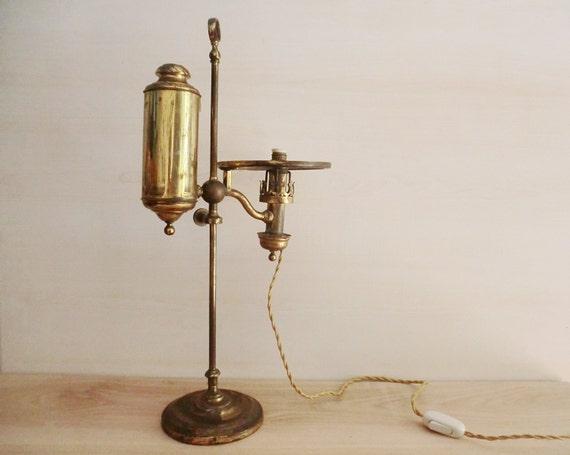 Antica lampada da tavolo a petrolio lucerna a olio inizio - Ebay lampade da tavolo antiche ...
