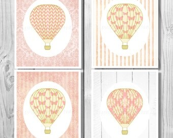 Hot Air Balloon Nursery, Nursery Art Print Hot Air Balloon Printable Hot Air Balloon Decor Hot Air Balloon Decoration,Hot Air Balloon 0189