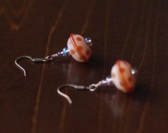 Polkadot Saucer Earrings