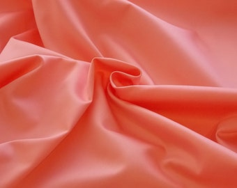 Petal Pink Cotton Sateen fabric by the yard