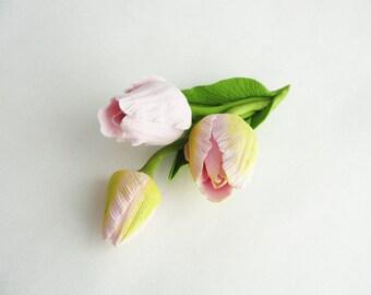 """Brooch """"Spring flowers"""""""