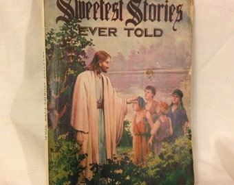 1946 Sweetest Stories Ever Told , vintage book