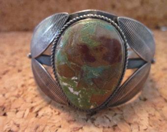 Native America Single Stone Bracelet