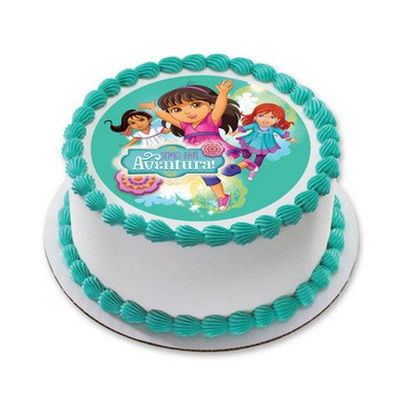 Dora the Explorer Edible Cake or Cupcake by SweetCakesForYou