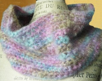 Soft Pastel Cowl Neck-Warmer