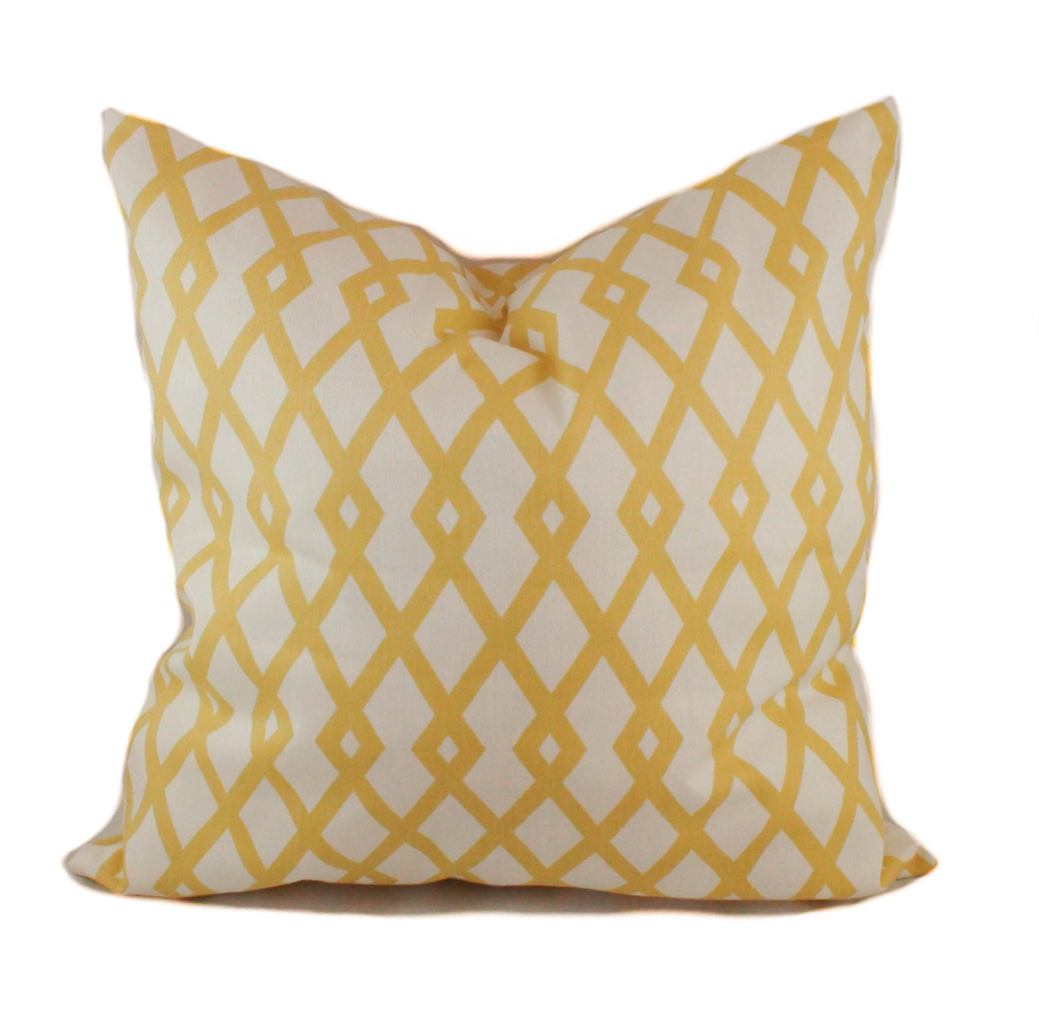 Yellow Decorative Pillows For Sofa : Yellow pillow cover Accent pillow Decorative pillow Sofa