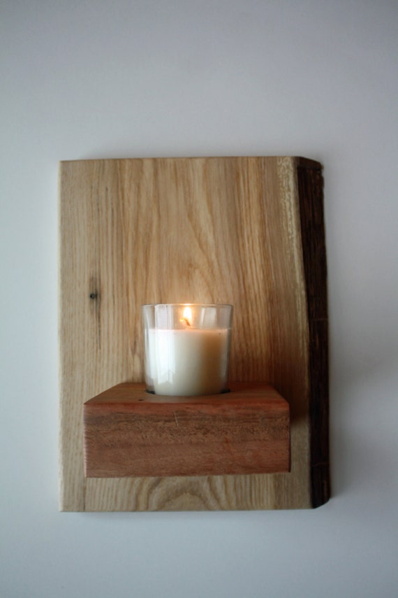 Wall Mounted Votive 3 Sconce & Candle Holder