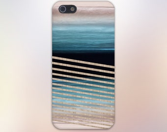 Mirror Image Beach Waves x Wood Stripes Design Case for iPhone 6 6 Plus iPhone 7  Samsung Galaxy  & s7 and Note 5  S8 Plus Phone Case