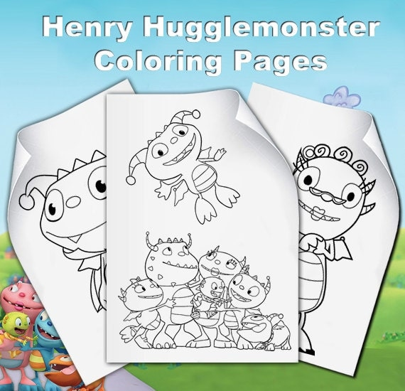 henry wiggle bottom coloring pages - photo#19