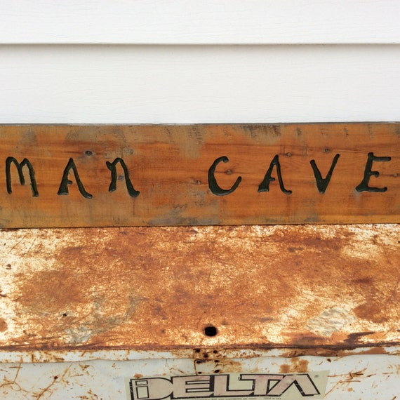 The Man Cave Decor Store Riverside Mo : Vintage wooden sign rustic shabby chic home decor man cave