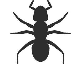 Ant, Insect, Bug Silhouette - Car/Truck/Home/Computer/Laptop/Phone Decal