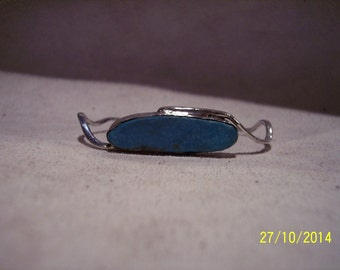 Sterling Silver n Turquoise Cuff bracelet