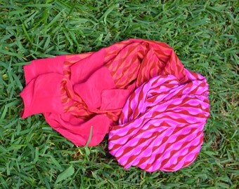 Handmande silk scarves,Soft, available in 30 different patterns and colors,great gifts