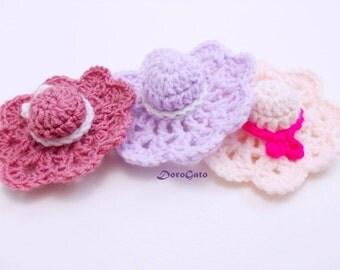 Crochet Mini Cowboy Hat Pattern : Chandeliers & Pendant Lights