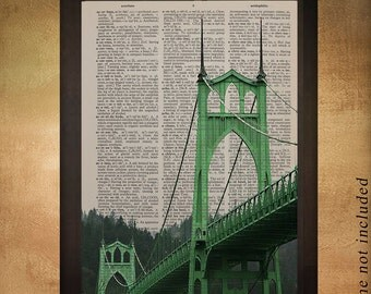 Portland Bridges Etsy