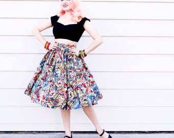Marvel super hero skirt!