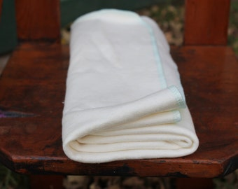 Certified Organic Hemp Baby Receiving Blanket